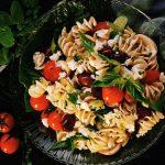 Pasta Salad with Grilled Veggies Recipe