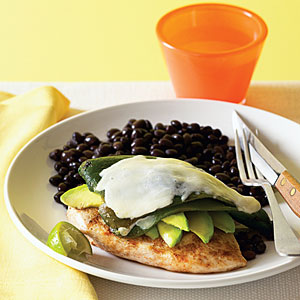 Southwest Grilled Chicken and Avocado Melts Recipe