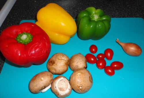 Peppers & Portobellos