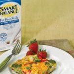 Fresh Broccoli and Red Pepper Frittata Recipe