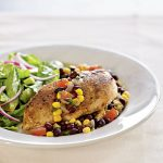Chicken with Southwestern Salsa Recipe