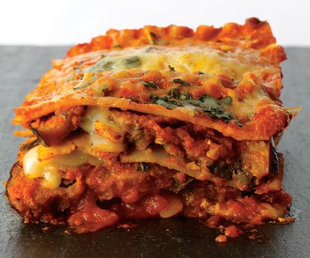 Eggplant Parmesan Lasagna Recipe