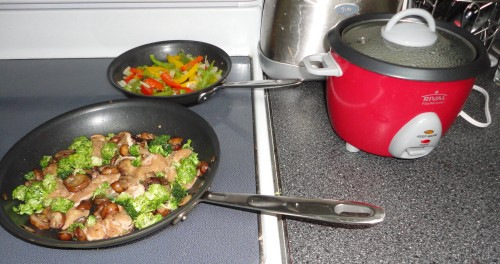 throw together stir fry recipe