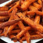 Oven Roasted Sweet Potato Fries Recipe — Clean Eating