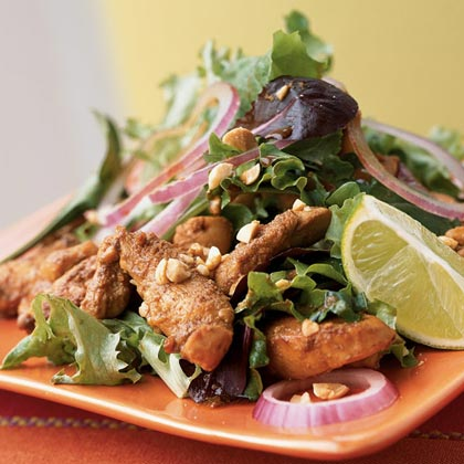 Stir-Fried Chicken Salad Recipe
