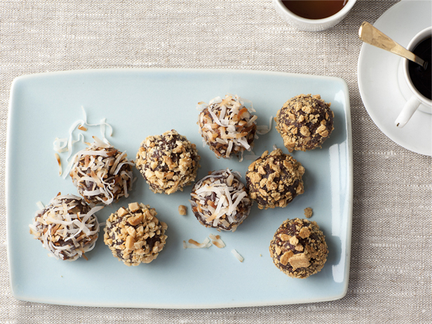 No Bake Chewy Truffle Cookies Recipe