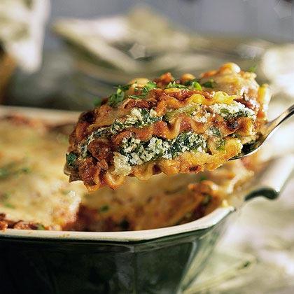 Spinach Black Bean Lasagna Recipe