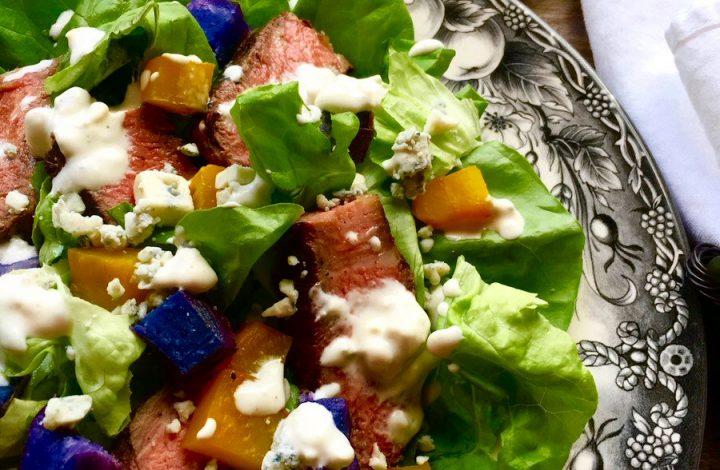 Steak Salad Blue Cheese